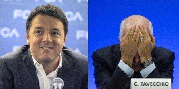 Dl Stadi, Matteo Renzi ignora Carlo Tavecchio: