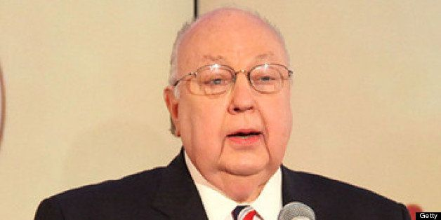 NEW YORK, NY - NOVEMBER 15:  Roger Ailes, Chairman & CEO, FOX News & FOX Business attends the 2012 Ailes Apprentice Class gra