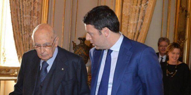 Matteo Renzi al Foglio, Giorgio Napolitano politico del 2014. Il premier svela il metodo per trovare...