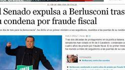 Silvio Berlusconi decaduto: la notizia sui siti italiani e stranieri