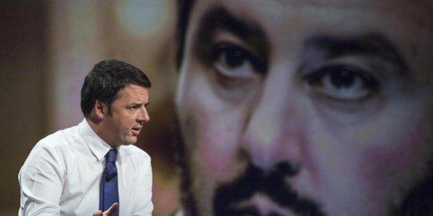 Matteo Salvini sfida al duello tv Matteo Renzi: