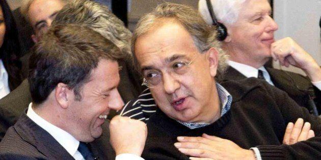 Tfr, Sergio Marchionne appoggia l'ipotesi di Matteo Renzi: