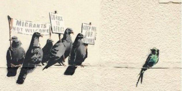 Banksy, cancellato il graffito