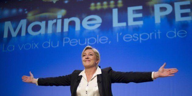 Marine Le Pen in testa ai sondaggi per le Europee:
