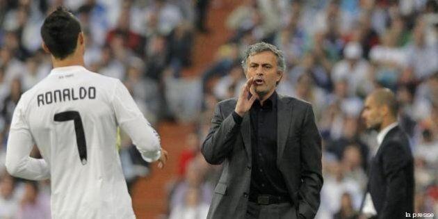 José Mourinho Cristiano Ronaldo: veleni tra l'allenatore del Chelsea e il fuoriclasse del Real Madrid