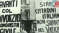 40 anni fa il referendum sul divorzio: maggio italiano di riforme di libertà, ma chi lo