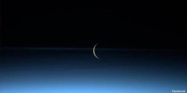 Luca Parmitano, le foto della Luna che sorge. Le immagini dallo spazio dell'astronauta italiano