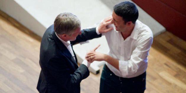 L'intesa tra Matteo Renzi e Gianni Cuperlo: il primo segretario e poi premier, il secondo reggente