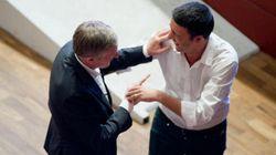 L'accordo tra Matteo Renzi e Gianni Cuperlo: il primo segretario e poi premier, il secondo reggente