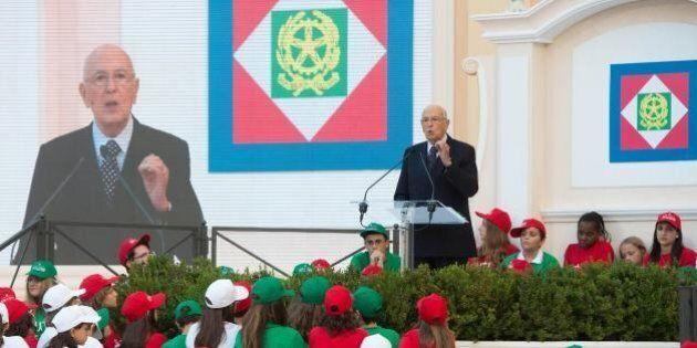 Giorgio Napolitano sulle dimissioni del Pdl: