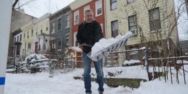 Tempesta di neve New York, il sindaco Bill De Blasio: