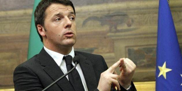 Matteo Renzi al Quirinale: scioglie la riserva e presenta la lista dei ministri