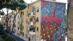 A Roma i palazzi si dipingono insieme ai cittadini