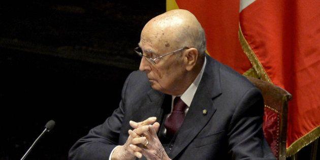 Giorgio Napolitano al Csm: