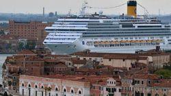 Adriano Celentano contro le grandi navi nella laguna di Venezia: