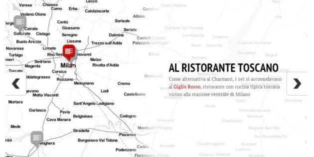 Arresti Expo, la mappa dei luoghi in cui si incontrava la