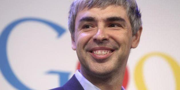 Larry Page, fondatore di Google: