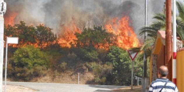 Incendi Sardegna,