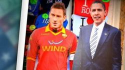 #ObamainItalia incontra Totti