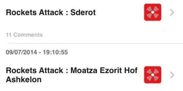 App Israele: Red Alert-Yo!, un'app congiunta che ti avvisa ogni volta che un missile è lanciato contro...