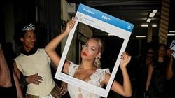 Beyonce prende in giro Instagram