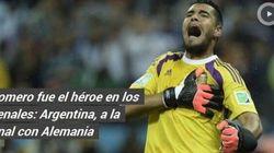 Il para-rigori Romero porta l'Argentina in finale