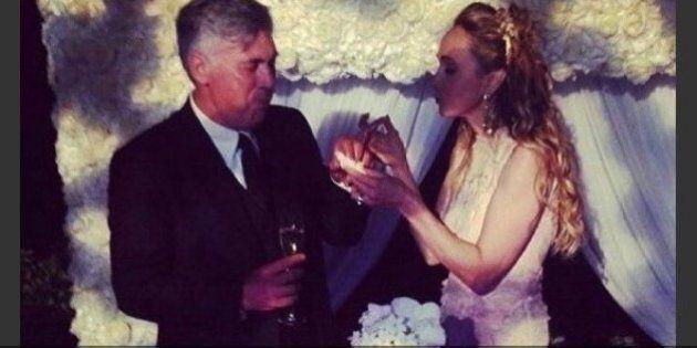 Carlo Ancelotti matrimonio: all'altare con Mariann Barrena McClay tutte le foto delle nozze