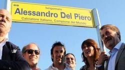 A Jesolo dedicato un tratto del lungomare a Del Piero