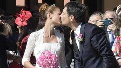 Fabrizio Frizzi e Carlotta Manovan si sono detTi sì