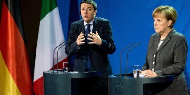 Matteo Renzi Angela Merkel: tra i due è sempre più gelo. Al summit Ue di Milano conferenze stampa separate
