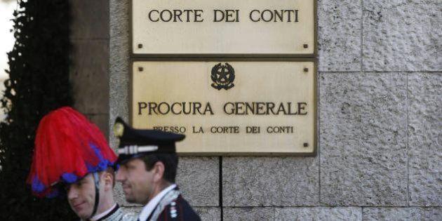 Finanziamento pubblico ai partiti, Corte dei Conti: