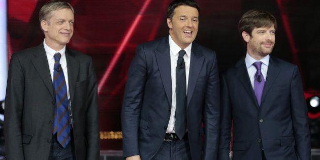 Confronto tv. Matteo Renzi ingessato, Gianni Cuperlo in una parte non sua, Sky fa bene a Pippo
