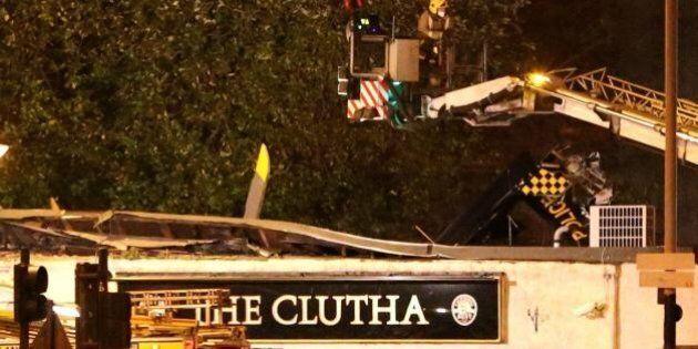 Glasgow, elicottero precipita su un pub: almeno 8 morti