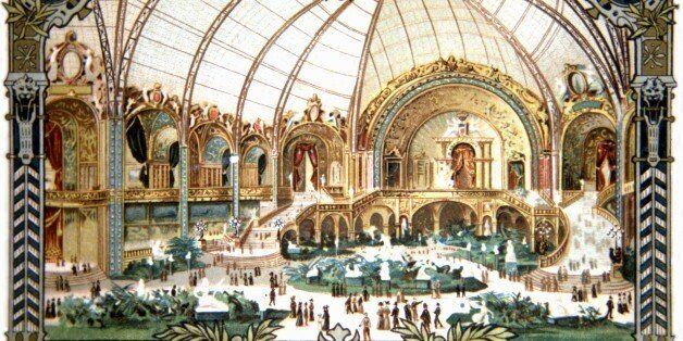 Paris, World Exhibition, Interior of the Palais des Arts, France, 1900. (Photo by: Photo12/UIG via Getty Images)