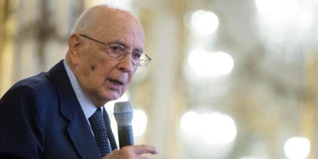 Shoah, Giorgio Napolitano in sinagoga per il ricordo del rastrellamento: