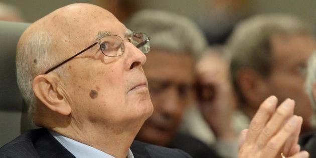 Giorgio Napolitano ricorda l'economista Spaventa. E si