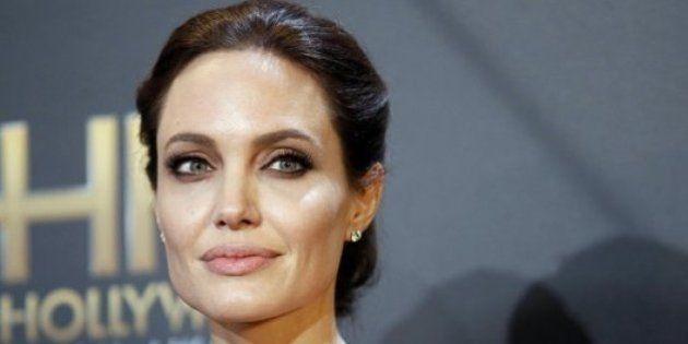 Angelina Jolie, magra per solidarietà agli attori di Unbroken: