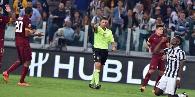 Juventus Roma 3 2. Il rigore dato da Gianluca Rocchi agita i deputati Pd e FdI: