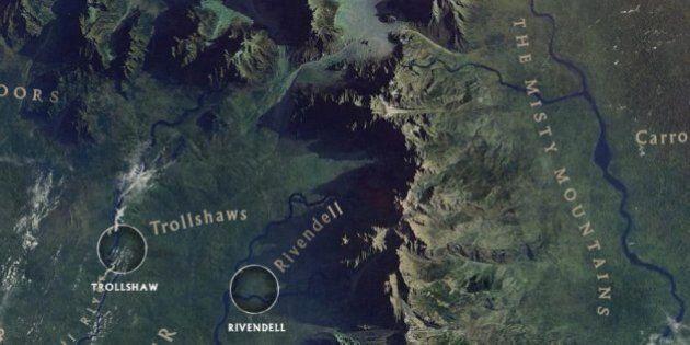 Lo Hobbit, come Bilbo Baggins nella Terra di Mezzo. Il mondo di Tolkien si esplora con Google (FOTO,