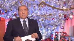 Berlusconi, il video degli auguri di Natale che rompe ogni