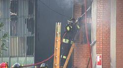 Prato, incendio in fabbrica: cinque morti