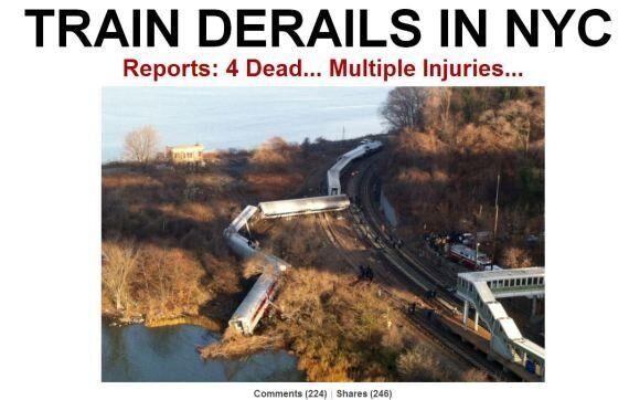 Metro New York deraglia nel Bronx, morti e feriti tra i passeggeri