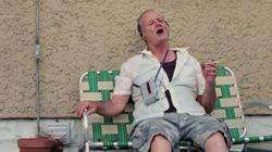 In pensione, alcolista e misantropo... Bill Murray canta Bob