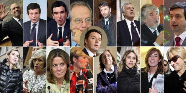 I ministri del governo Renzi: sedici di cui metà donne. Ecco chi sono