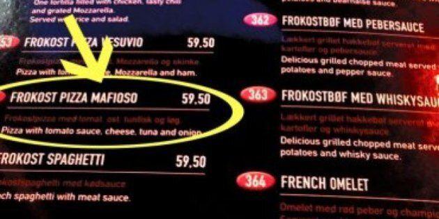 Pizza Mafioso, il brand Mafia va forte a tavola anche a Copenaghen. Fabrizio Ferrandelli (PD):