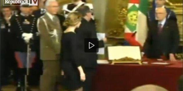 Marianna Madia incinta giura col pancione: