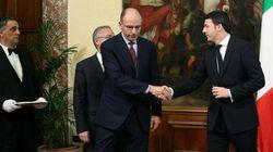 Renzi-Letta: il passaggio della campanella è gelido (FOTO,