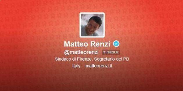 Matteo Renzi su Twitter è ancora sindaco. Pinotti 'caposcout'. Mogherini si racconta come 'mamma, moglie,...