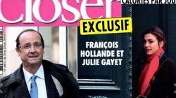 Scoop di Closer: Love story tra Hollande e l'attrice Julie Gayet