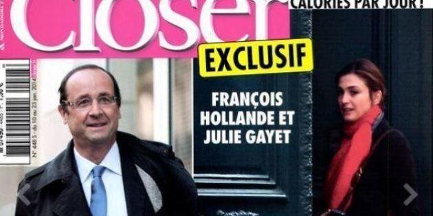 Francois Hollande e l'attrice Julie Gayet, settimanale Closer pubblica foto di presunta love